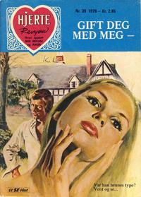 Cover Thumbnail for Hjerterevyen (Serieforlaget / Se-Bladene / Stabenfeldt, 1960 series) #39/1976