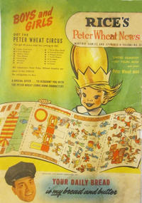 Cover Thumbnail for Peter Wheat News (Peter Wheat Bread and Bakers Associates, 1948 series) #38