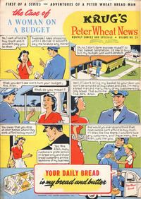 Cover Thumbnail for Peter Wheat News (Peter Wheat Bread and Bakers Associates, 1948 series) #25