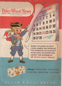 Cover Thumbnail for Peter Wheat News (Peter Wheat Bread and Bakers Associates, 1948 series) #23