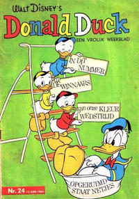 Cover Thumbnail for Donald Duck (Geïllustreerde Pers, 1952 series) #24/1964