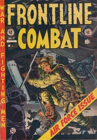 Cover Thumbnail for Frontline Combat (Superior Publishers Limited, 1951 series) #12