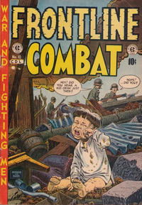 Cover Thumbnail for Frontline Combat (Superior Publishers Limited, 1951 series) #10