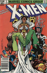 Cover Thumbnail for X-Men Annual (Marvel, 1970 series) #6 [Newsstand]
