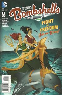 Cover Thumbnail for DC Comics: Bombshells (DC, 2015 series) #2