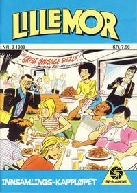 Cover Thumbnail for Lillemor (Serieforlaget / Se-Bladene / Stabenfeldt, 1969 series) #9/1989