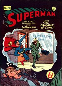 Cover Thumbnail for Superman (K. G. Murray, 1947 series) #50