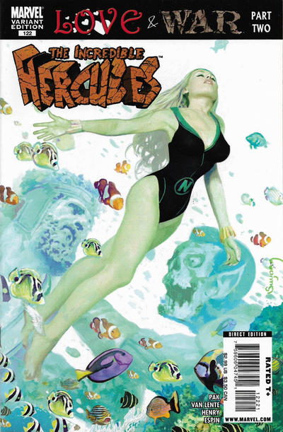 Cover for Incredible Hercules (Marvel, 2008 series) #122 [Cover B - Marvel Zombies Variant]