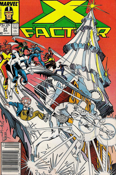 Cover for X-Factor (Marvel, 1986 series) #27 [Direct Edition]