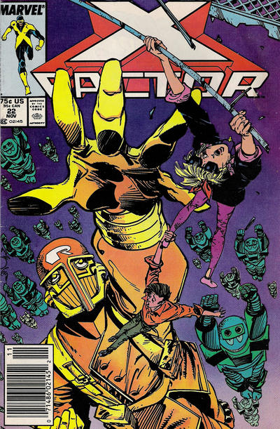 Cover for X-Factor (Marvel, 1986 series) #22 [Direct Edition]