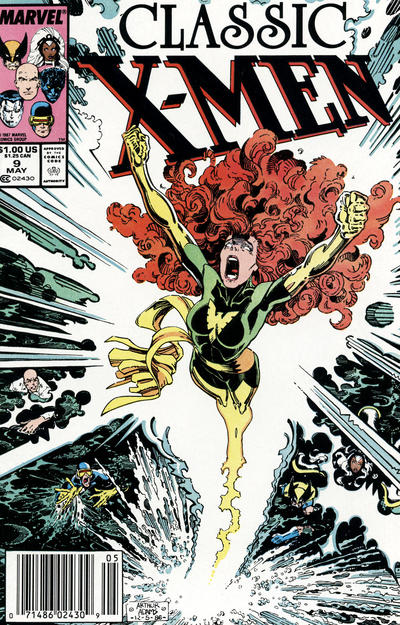 Cover for Classic X-Men (Marvel, 1986 series) #9 [Direct Edition]
