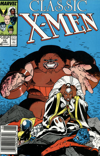 Cover for Classic X-Men (Marvel, 1986 series) #10 [Direct Edition]