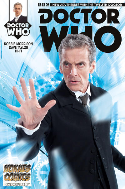 Cover for Doctor Who: The Twelfth Doctor (Titan, 2014 series) #1 [Cover A - Alice X. Zhang]