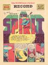 Cover Thumbnail for The Spirit (1940 series) #9/13/1942 [Philadelphia Record edition]