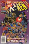 Cover for The Uncanny X-Men (Marvel, 1981 series) #335 [Australian]