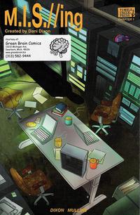 Cover Thumbnail for M.I.S.//ing (Tumble Creek Press, 2011 series) #[1]