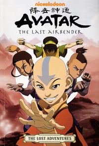 Cover Thumbnail for Nickelodeon Avatar: The Last Airbender - The Lost Adventures (Dark Horse, 2011 series)