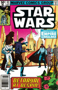 Cover Thumbnail for Star Wars (Marvel, 1977 series) #43 [Newsstand]