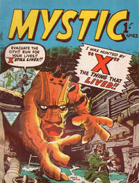 Cover Thumbnail for Mystic (L. Miller & Son, 1960 series) #43