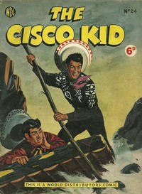 Cover Thumbnail for Cisco Kid (World Distributors, 1952 series) #24