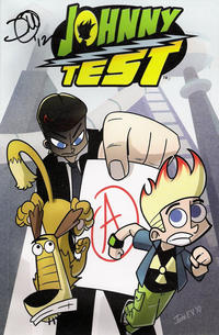 Cover Thumbnail for Johnny Test: The Once and Future Johnny (Viper, 2011 series)