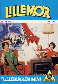 Cover Thumbnail for Lillemor (Serieforlaget / Se-Bladene / Stabenfeldt, 1969 series) #24/1988