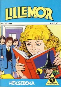 Cover Thumbnail for Lillemor (Serieforlaget / Se-Bladene / Stabenfeldt, 1969 series) #22/1988