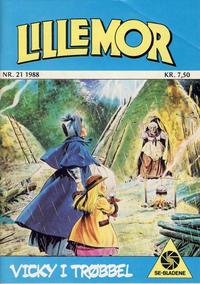 Cover Thumbnail for Lillemor (Serieforlaget / Se-Bladene / Stabenfeldt, 1969 series) #21/1988