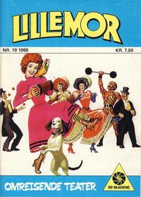 Cover Thumbnail for Lillemor (Serieforlaget / Se-Bladene / Stabenfeldt, 1969 series) #19/1988