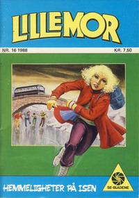 Cover Thumbnail for Lillemor (Serieforlaget / Se-Bladene / Stabenfeldt, 1969 series) #16/1988