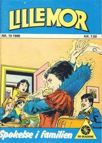 Cover Thumbnail for Lillemor (Serieforlaget / Se-Bladene / Stabenfeldt, 1969 series) #10/1988