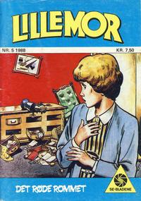 Cover Thumbnail for Lillemor (Serieforlaget / Se-Bladene / Stabenfeldt, 1969 series) #5/1988