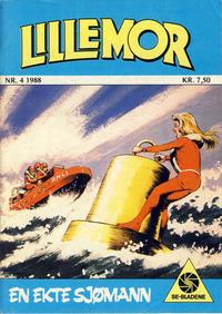 Cover Thumbnail for Lillemor (Serieforlaget / Se-Bladene / Stabenfeldt, 1969 series) #4/1988