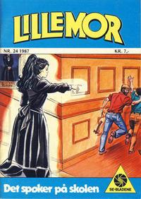 Cover Thumbnail for Lillemor (Serieforlaget / Se-Bladene / Stabenfeldt, 1969 series) #24/1987