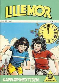 Cover Thumbnail for Lillemor (Serieforlaget / Se-Bladene / Stabenfeldt, 1969 series) #22/1987