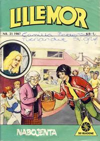 Cover Thumbnail for Lillemor (Serieforlaget / Se-Bladene / Stabenfeldt, 1969 series) #21/1987