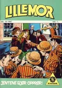 Cover Thumbnail for Lillemor (Serieforlaget / Se-Bladene / Stabenfeldt, 1969 series) #19/1987