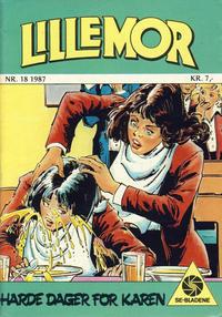 Cover Thumbnail for Lillemor (Serieforlaget / Se-Bladene / Stabenfeldt, 1969 series) #18/1987