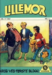 Cover Thumbnail for Lillemor (Serieforlaget / Se-Bladene / Stabenfeldt, 1969 series) #17/1987