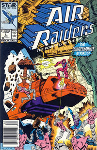 Cover Thumbnail for Air Raiders (Marvel, 1987 series) #2 [Newsstand]