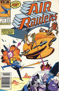 Cover Thumbnail for Air Raiders (Marvel, 1987 series) #1 [Newsstand]
