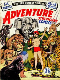Cover Thumbnail for Adventure Streamline Comics (Streamline, 1951 ? series)