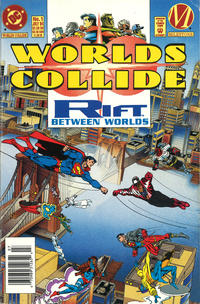 Cover Thumbnail for Worlds Collide (DC, 1994 series) #1 [Newsstand]