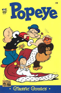 Cover Thumbnail for Classic Popeye (IDW, 2012 series) #38