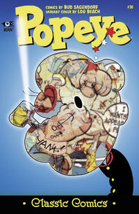 Cover Thumbnail for Classic Popeye (IDW, 2012 series) #38 [Lou Beach variant cover]