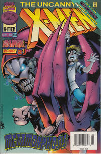 Cover Thumbnail for The Uncanny X-Men (Marvel, 1981 series) #336 [Australian Newsstand]