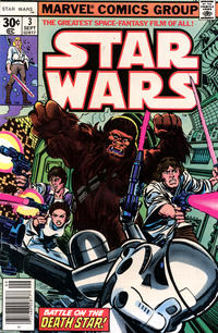 Cover Thumbnail for Star Wars (Marvel, 1977 series) #3 [30¢]