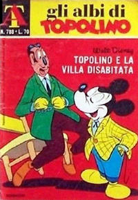 Cover Thumbnail for Albi di Topolino (Arnoldo Mondadori Editore, 1967 series) #788