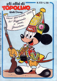 Cover Thumbnail for Albi di Topolino (Arnoldo Mondadori Editore, 1967 series) #1173