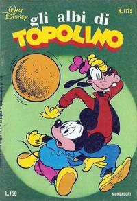 Cover Thumbnail for Albi di Topolino (Arnoldo Mondadori Editore, 1967 series) #1175